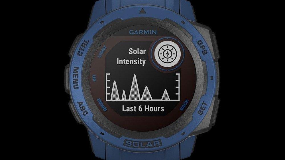 Klikk på bildet for å forstørre. Garmin Instinct Solar