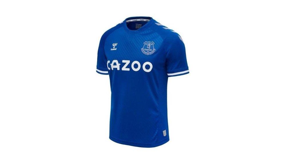 Klikk på bildet for å forstørre. Everton drakt