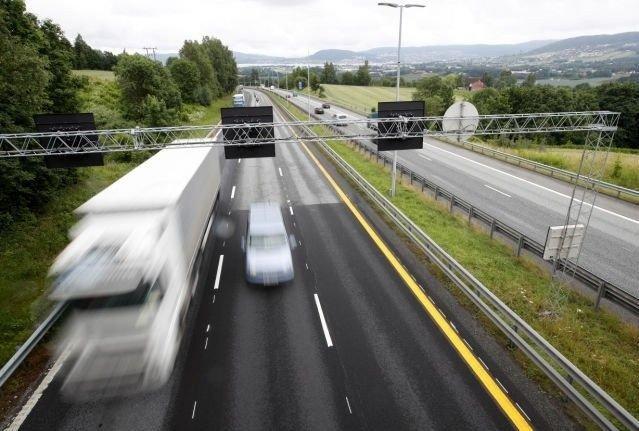 Klikk på bildet for å forstørre. Mer motorvei har også gitt flere strekninger med fartsgrense på 100 og 110 km/t på norske veier.