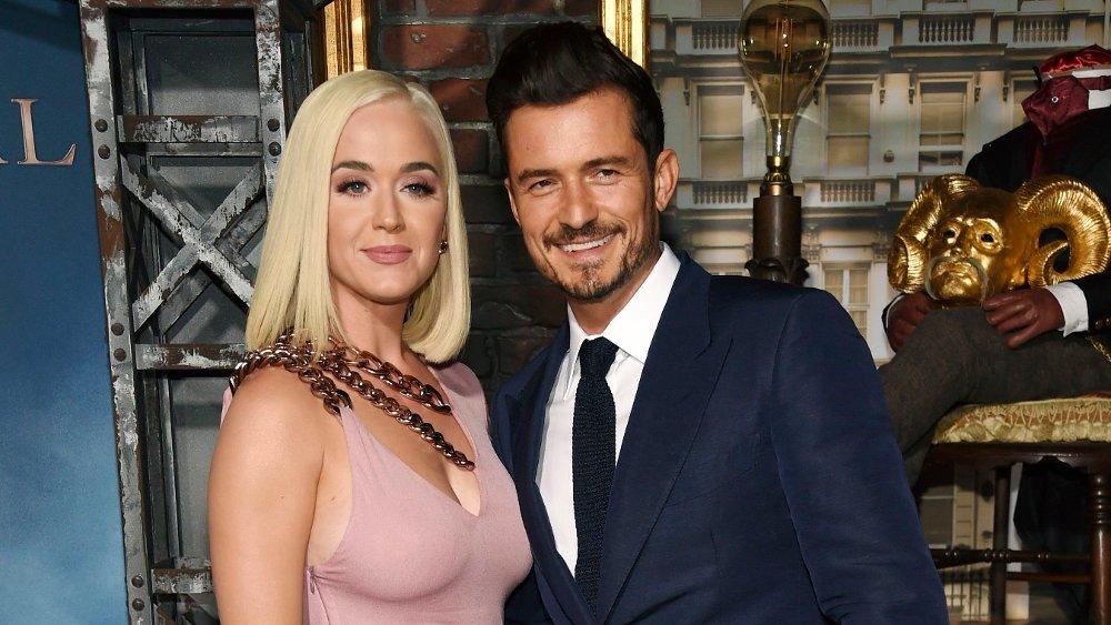 Klikk på bildet for å forstørre. People-Katy Perry FILE - This Aug. 21, 2019 file photo shows Orlando Bloom, right, a cast member in the Amazon Prime Video series