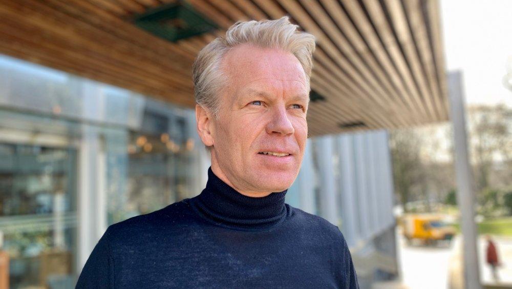 Klikk på bildet for å forstørre. SER LYST PÅ FREMTIDEN: – Vi har sett en eksplosjon av forespørsler og ordrer fra utenfor Norge så langt i år, sier Zaptec-sjef Anders Thingbø.
