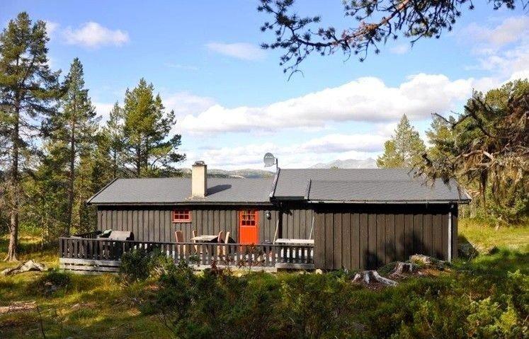 Klikk på bildet for å forstørre. hytte