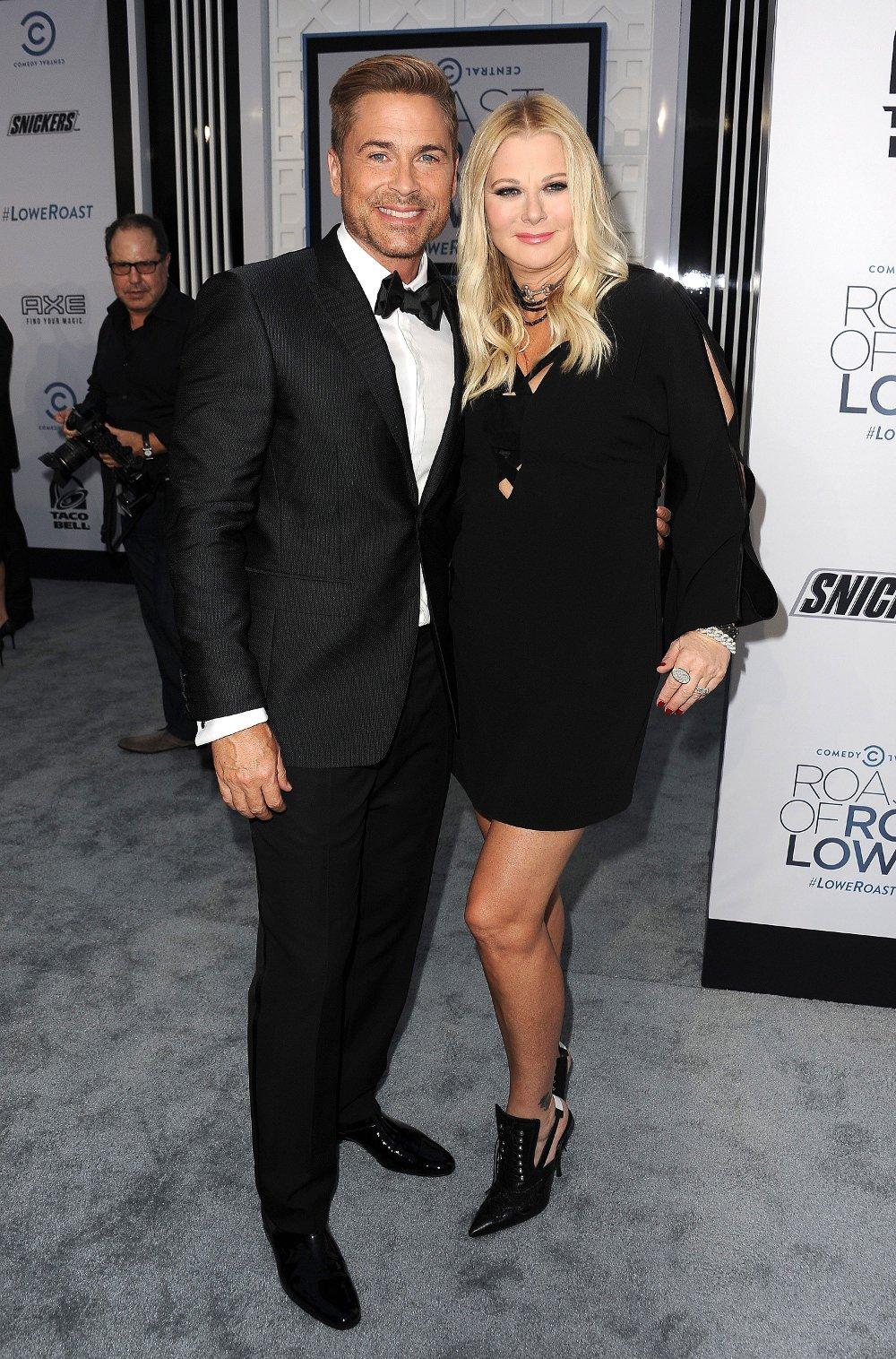 Klikk på bildet for å forstørre. Rob Lowe og Sheryl Berkoff har vært gift siden 1991. Sammen har de to barn.