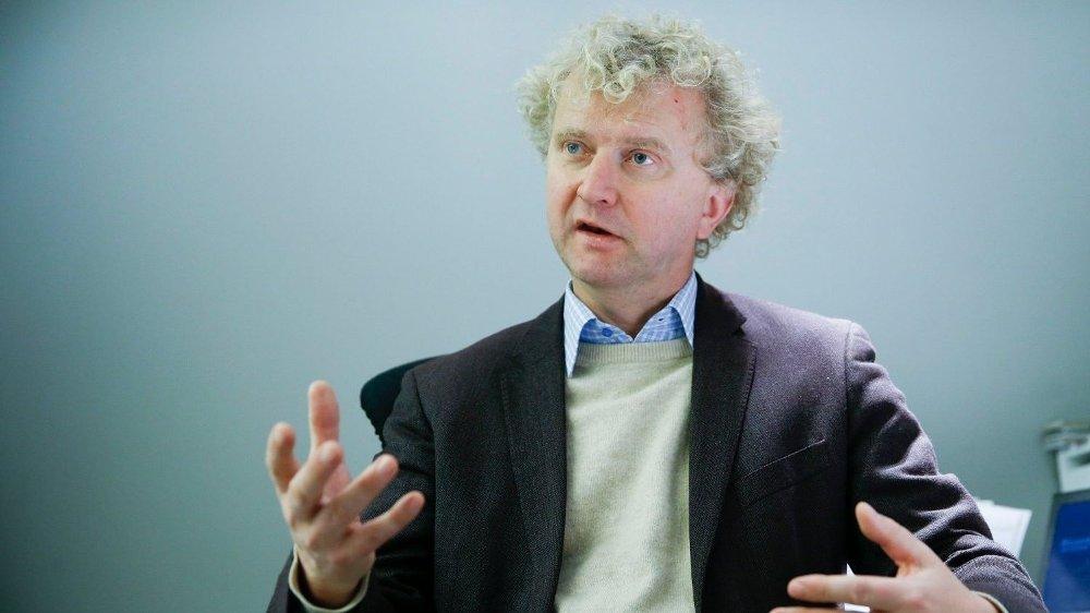 Klikk på bildet for å forstørre. TROR PÅ LANGVARIG LAV VEKST: Når vi er ferdig med koronakrisen, ligger vi fortsatt an til en lav vekst i mange år fremover, spår Jan Ludvig Andreassen.