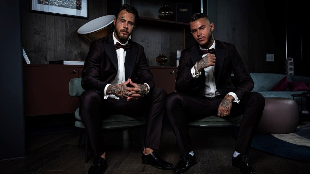 Klikk på bildet for å forstørre. Daniel og Pierre Louis gleder seg til å ta fatt på programlederrollen.