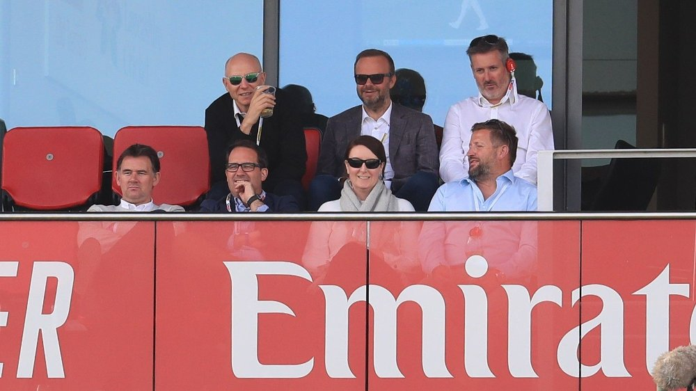 Klikk på bildet for å forstørre. File photo dated 05-09-2019 of Manchester United's Chief Financial Officer Cliff Baty during day two of the fourth Ashes Test at Emirates Old Trafford, Manchester.