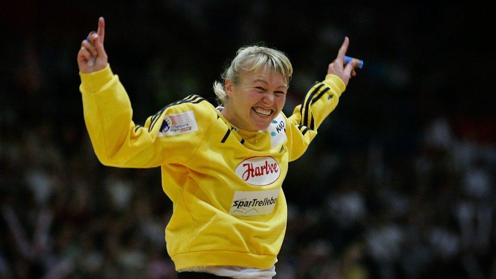 Klikk på bildet for å forstørre. KLAR FOR «MESTERNES MESTER»: Håndballspiller Cecilie Leganger.