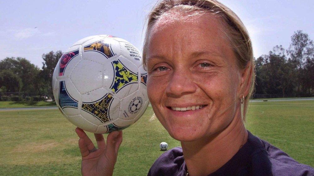 Klikk på bildet for å forstørre. KLAR FOR «MESTERNES MESTER»: Fotballspiller Linda Medalen.