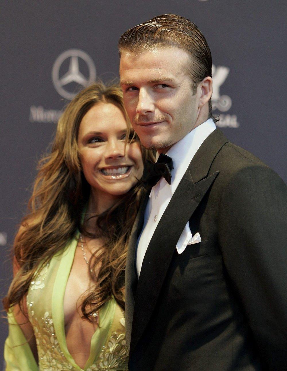 Klikk på bildet for å forstørre. STABILT PAR: David og Victoria Beckham har vært gift siden 1999. Her avbildet i 2005.