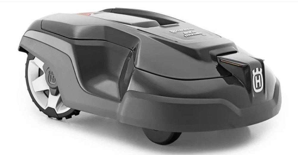 Klikk på bildet for å forstørre. Husqvarna Automower er testvinneren for robotgressklippere.