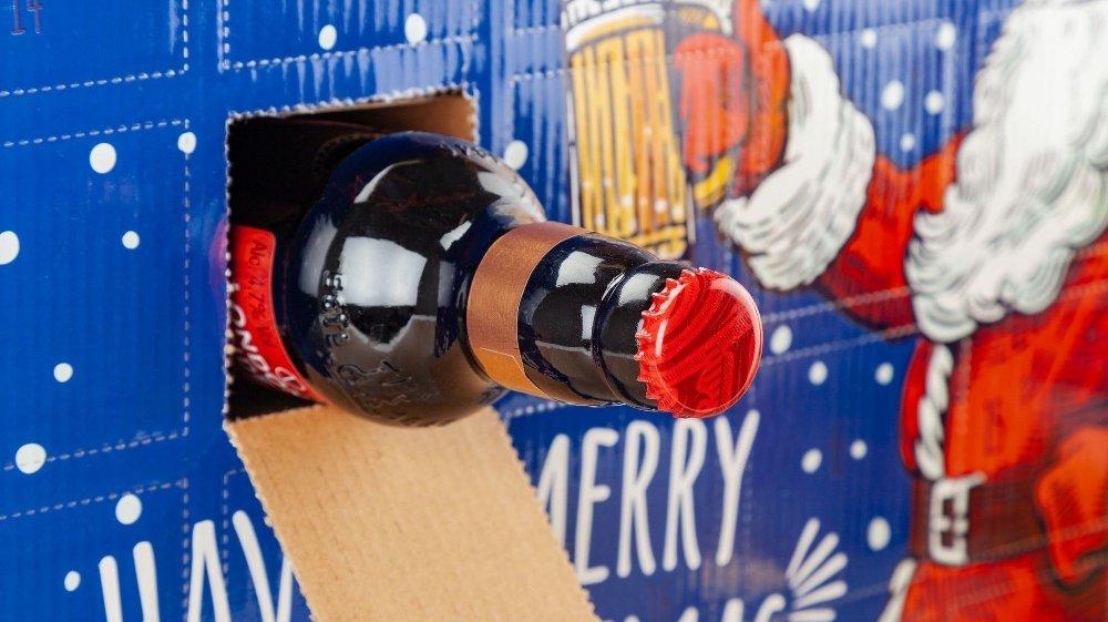 Klikk på bildet for å forstørre. En adventskalender med øl er det ingen tvil om at vil slå godt an.