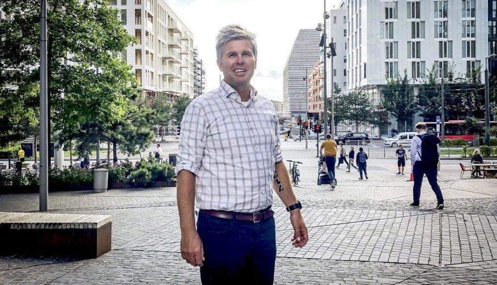 Klikk på bildet for å forstørre. STOR BETALINGSVILLIGHET: Boligdirektør Lars Holm i Oslo S Utvikling mener det er mange kjøpesterke mennesker i boligmarkedet.