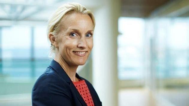 Klikk på bildet for å forstørre. VEKST: Nordea og Randi Marjamaa, sjef for personal banking, ser en lånevekst på 14 prosent annualisert - noe som betyr at takten i andre kvartal ville gitt en årsvekst på 14 prosent for året.