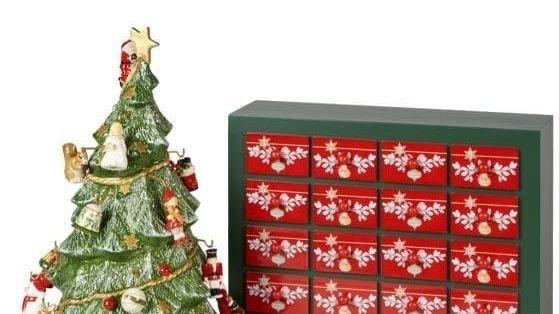 Klikk på bildet for å forstørre. Villeroy & Boch gir deg 24 klassikere på veien til julaften