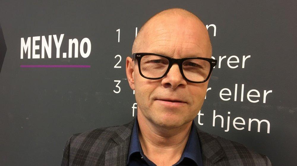 Klikk på bildet for å forstørre. Knut Nyløkken, Meny, sjef for Meny netthandel.