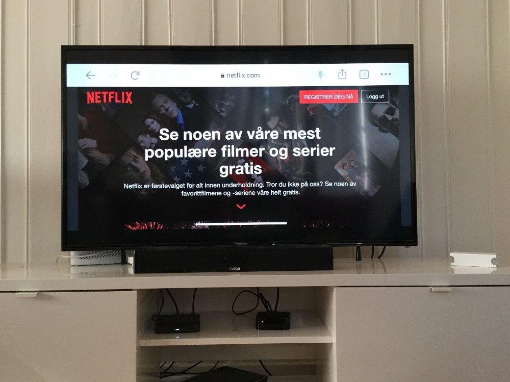 Klikk på bildet for å forstørre. GRATIS: Netflix har i det stille gjort det mulig for ikke-abonnenter å teste ut strømmetjenesten gratis.