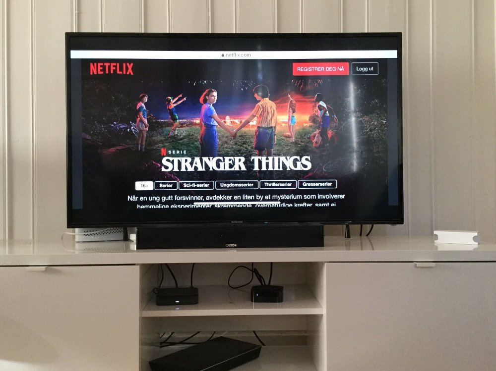 Klikk på bildet for å forstørre. STRANGER THINGS: Første episode av suksess-serien «Stranger Things» er blant det du kan se gratis akkurat nå.