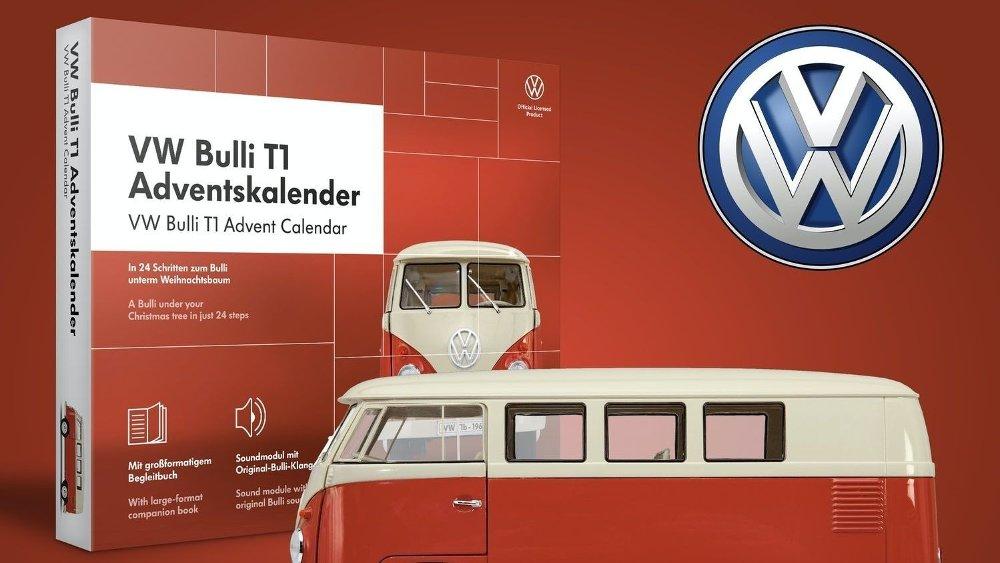 Klikk på bildet for å forstørre. Volkswagen 2020 har en rød folkevognbuss