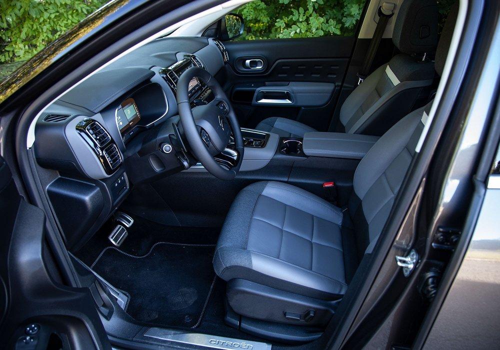 Klikk på bildet for å forstørre. Citroën C5 Aircross PHEV