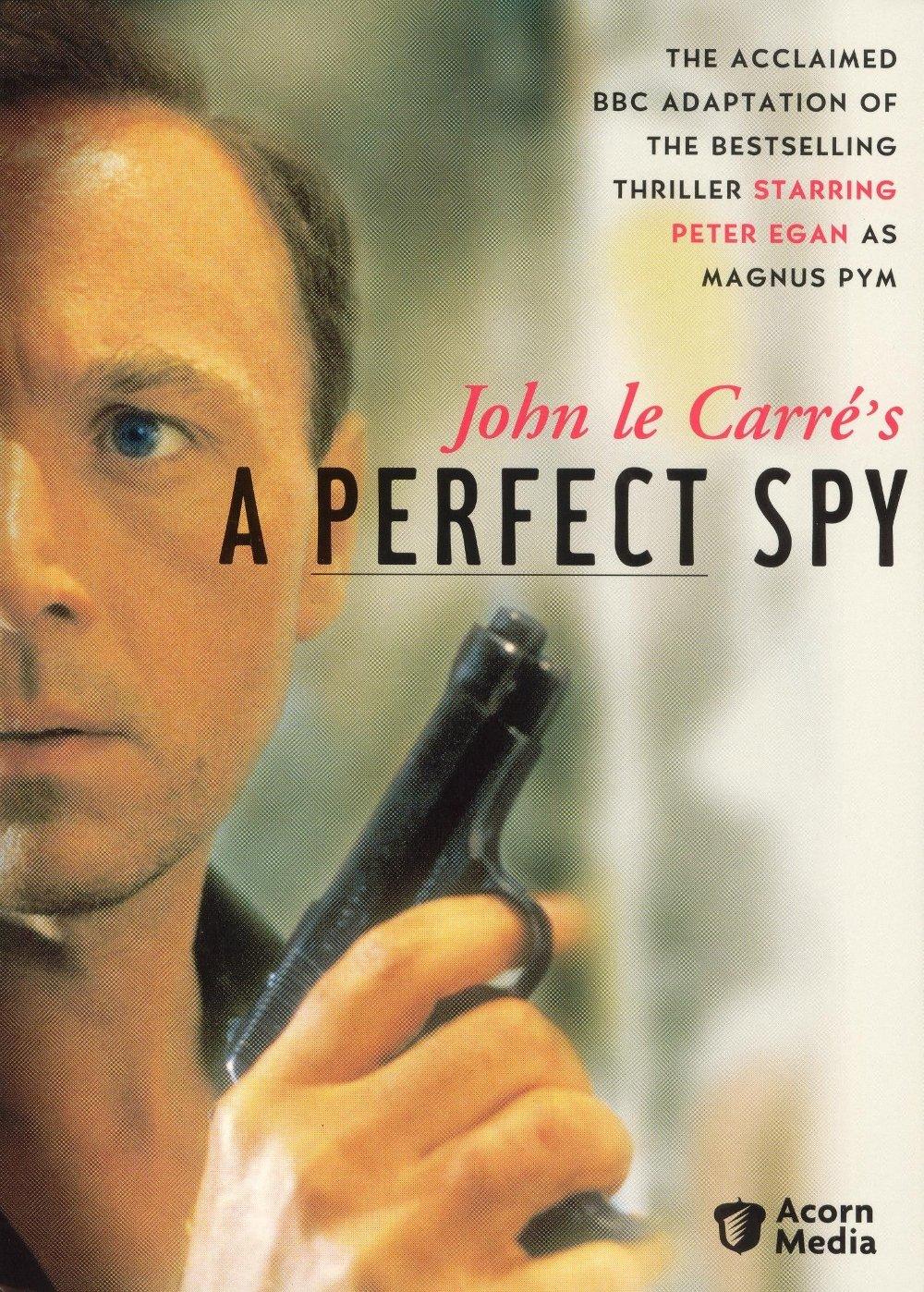 Klikk på bildet for å forstørre. coveret til serien, Den perfekte spion