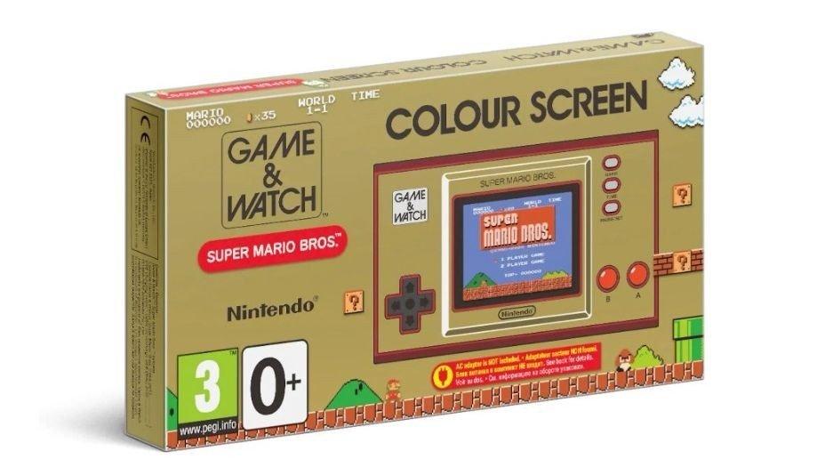 Klikk på bildet for å forstørre. Game & Watch Super Mario Bros er årets julegave 2020