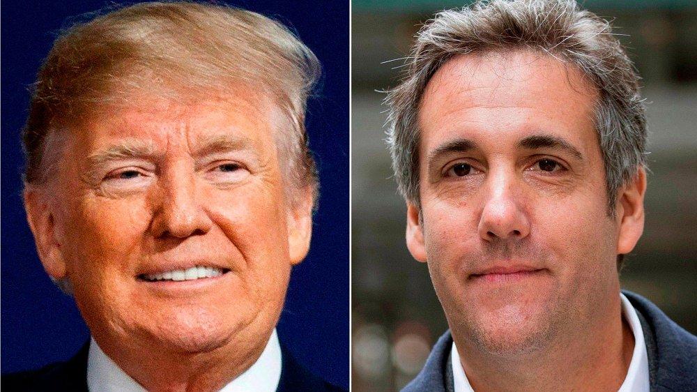 Klikk på bildet for å forstørre. President Donald Trump og Michael Cohen samarbeidet tett i flere år, men nå er stemningen mellom dem svært dårlig. Cohens nye bok endrer neppe på dette.