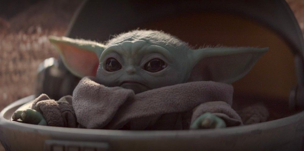 Klikk på bildet for å forstørre. Denne karakteren kalles Baby Yoda, men hvem er det egentlig?