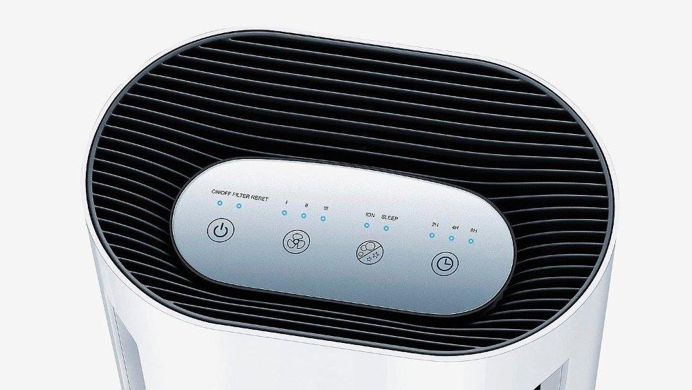 Klikk på bildet for å forstørre. Beurer luftrenser sikrer deilig luft.