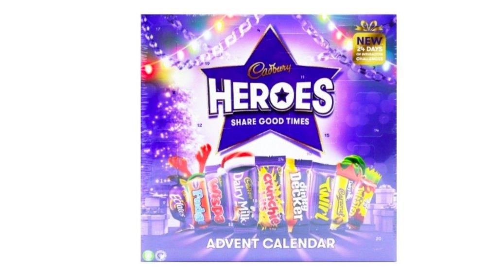 Klikk på bildet for å forstørre. julekalender heroes