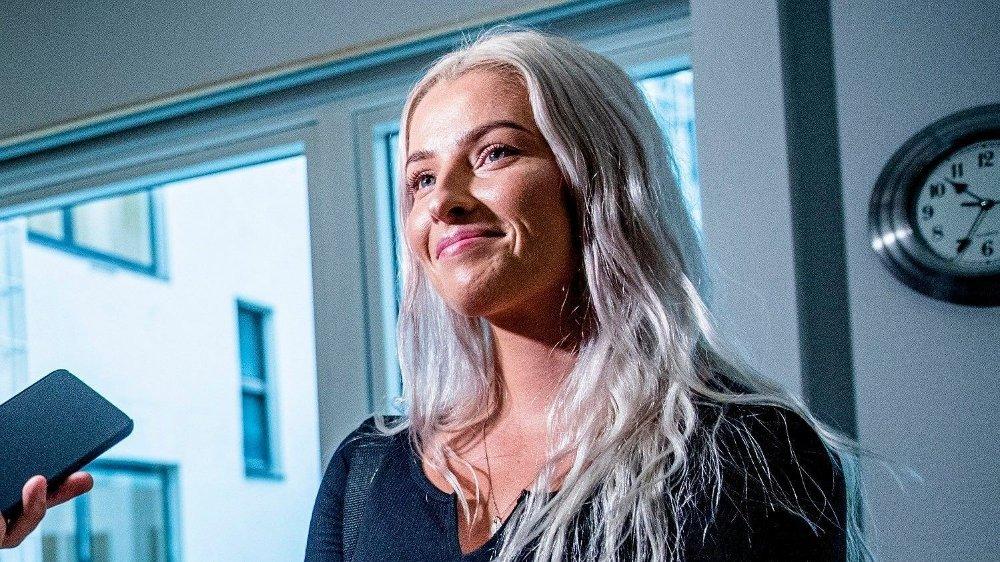 Klikk på bildet for å forstørre. SNAKKET VG IMOT: Sofie Bakkemyr gikk ut i TV 2 og sa at hun var feilsitert av VG. Kampen om sannheten ble en stor belastning for kvinnen, som til slutt vant både i PFU og mottok erstatning fra VG.