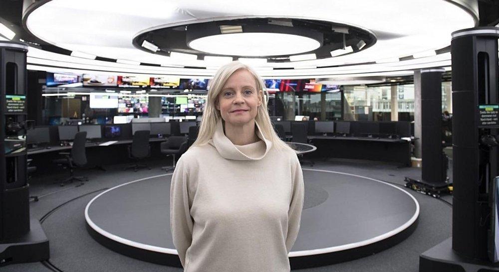 Klikk på bildet for å forstørre. Nyhetsredaktør Karianne Solbrække i TV 2 forsvarer avgjørelsen om å ansette Skarvøy.