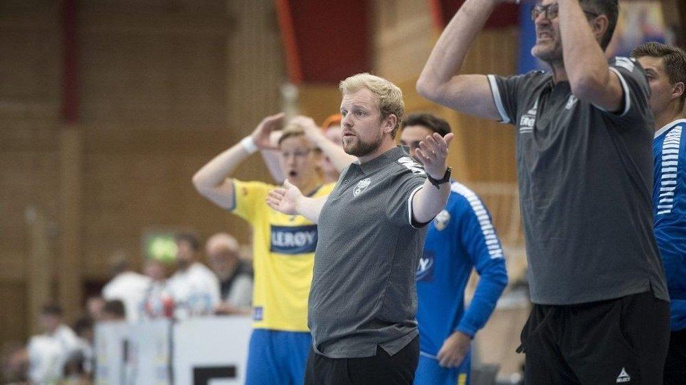 Klikk på bildet for å forstørre. Fredrik Ruud og FyllingenBergen fikk juling av Drammen i treningskamp før sesongen. Foto: Anders Kjølen, Bergensavisen