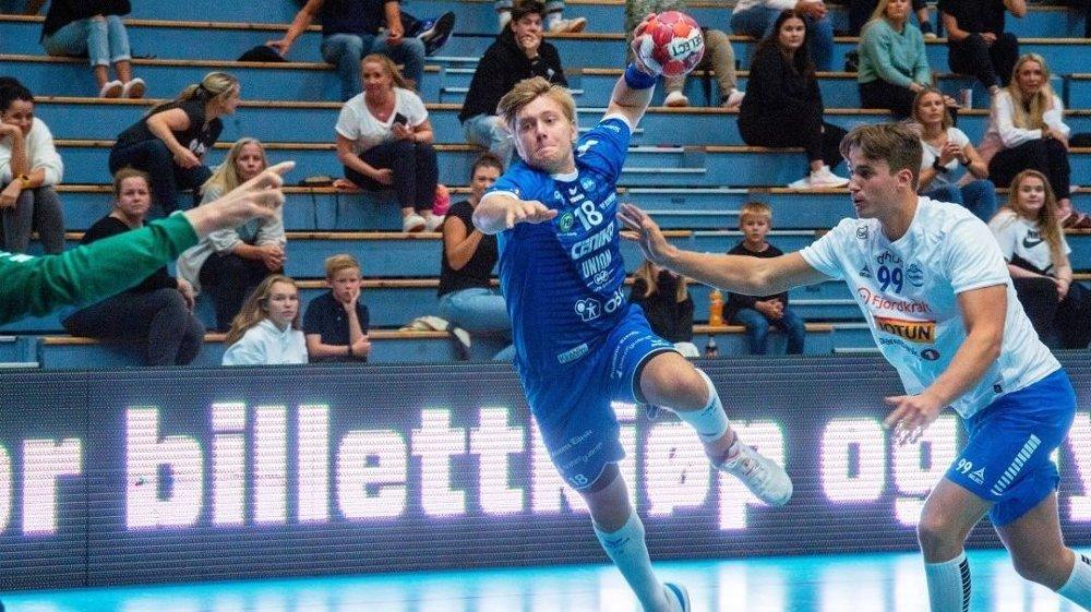 Klikk på bildet for å forstørre. Viktor Petersen Nordberg er toppscorer i Drammen. Foto: Drammens Tidende