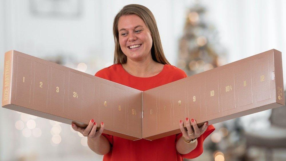 Klikk på bildet for å forstørre. Julekalenderen med stor og mye sjokolade? Ja, det er denne.