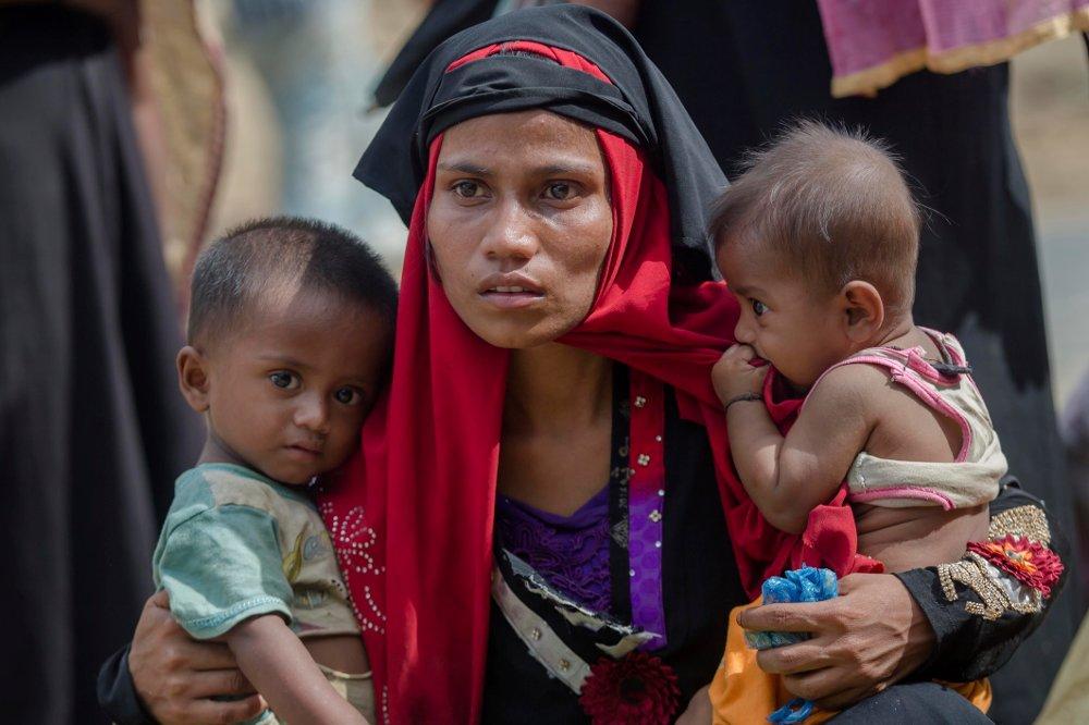 Klikk på bildet for å forstørre. Det er uforsvarlig å repatriere flyktninger fra rohingyaminoriteten fra Bangladesh til Myanmar, der de risikerer folkemord, slår en gruppe FN-eksperter fast.