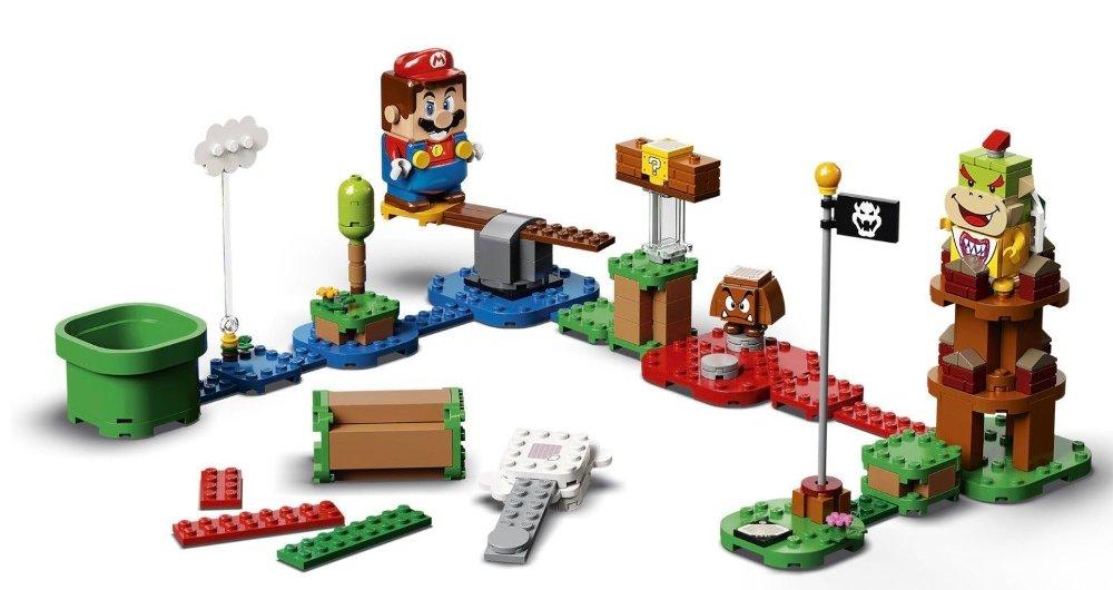 Klikk på bildet for å forstørre. Lego Mario
