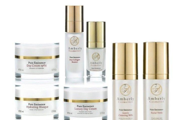 Klikk på bildet for å forstørre. Amberly Cosmetics første aldringstegn.
