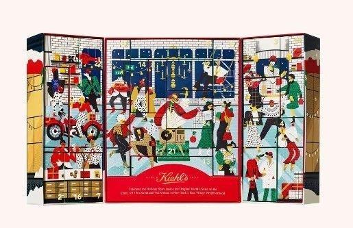 Klikk på bildet for å forstørre. Kiehls-kalenderen er vakker, og har gode produkter. Et godt kjøp.