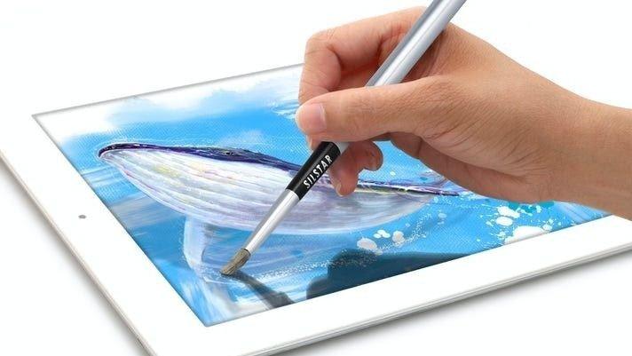 Klikk på bildet for å forstørre. En digital pensel er en super gave for små og store.