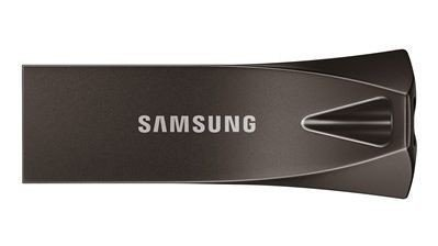 Klikk på bildet for å forstørre. Den veldig bærbare harddisken til Samsung er perfekt for den som varierer mellom å ha kontor både her og der.