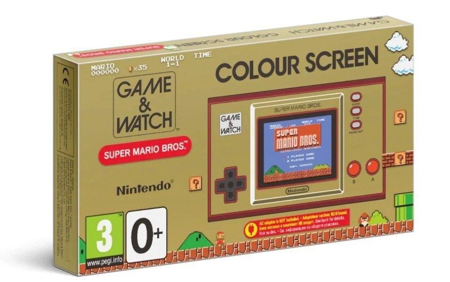 Klikk på bildet for å forstørre. Super Mario Game&Watch