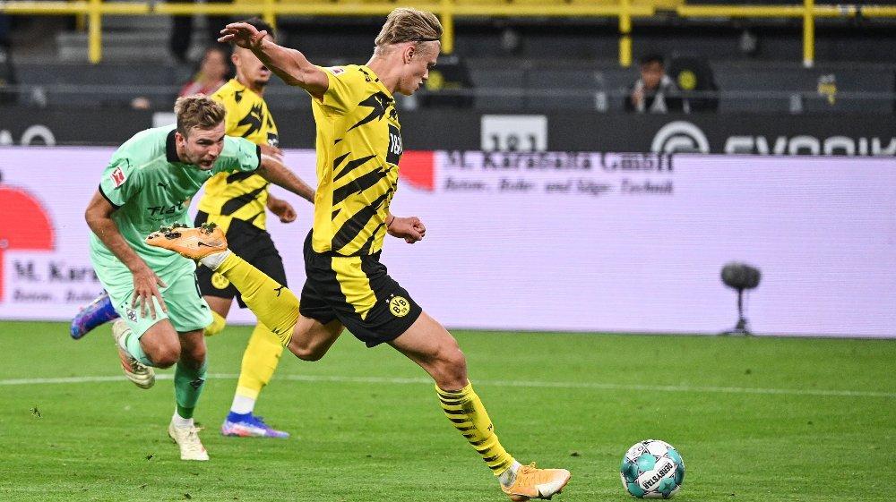 Erling Braut Haaland Bundesliga Haaland About The Monster Race Against Gladbach Time24 News