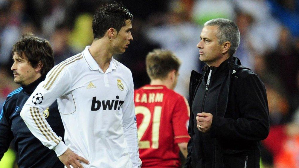 Klikk på bildet for å forstørre. SVIKTET: Cristiano Ronaldo var én av Real Madrid-stjernene som sviktet i straffesparkkonkurransen mot Bayern München.