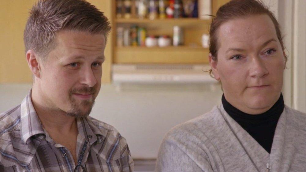 Klikk på bildet for å forstørre. Lars Erik Torp og Tine Jeanette Bendiksen Torp trenger sårt hjelp for å unngå tvangssalg av hjemmet sitt.
