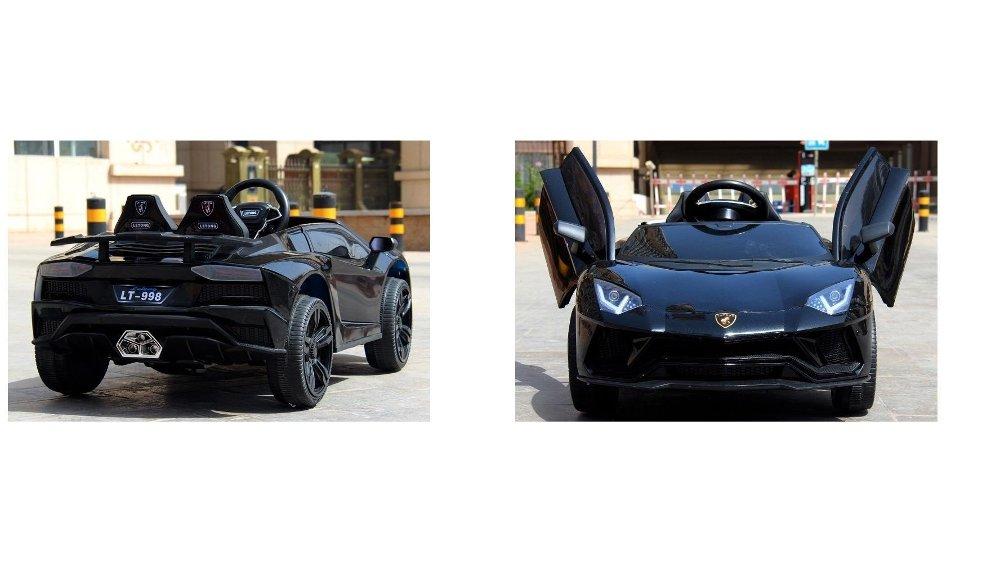 Klikk på bildet for å forstørre. En Lamborghini er en sportspill som det virkelig står respekt av.