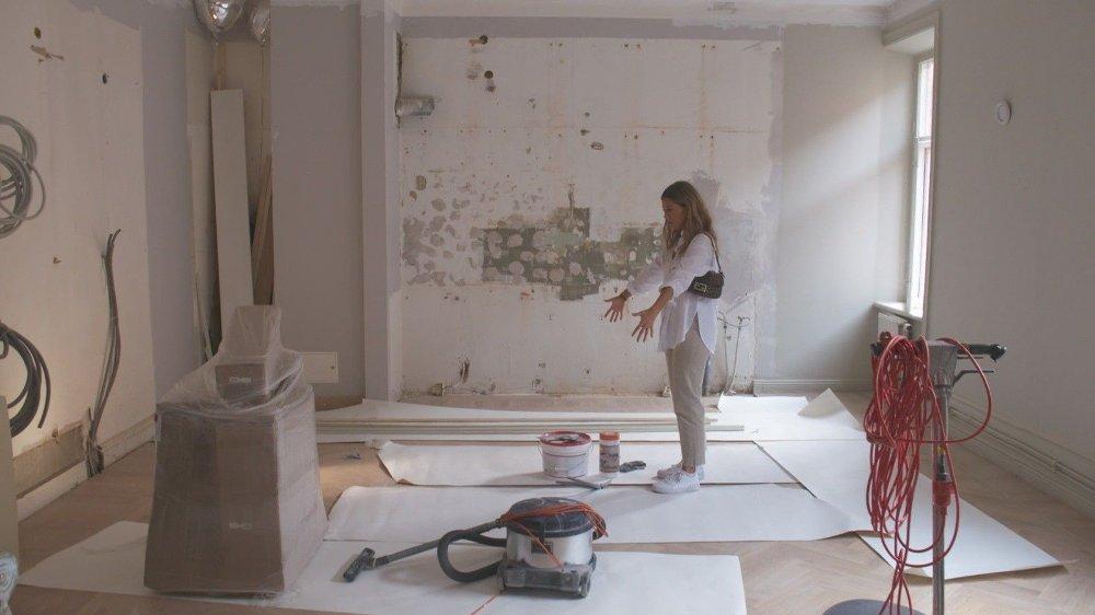 Klikk på bildet for å forstørre. TOTALRENOVERING: Bianca Ingrosso pusset opp leiligheten for flere millioner.
