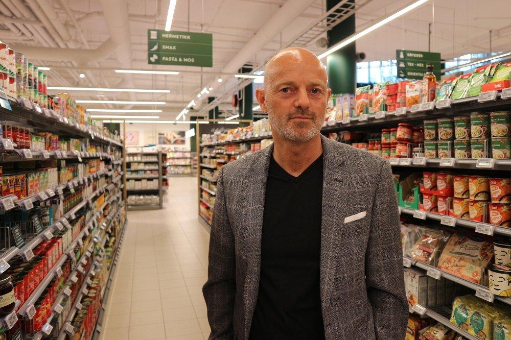 Klikk på bildet for å forstørre. Bjørn Takle Friis, kommunikasjonsdirektør i Coop Norge