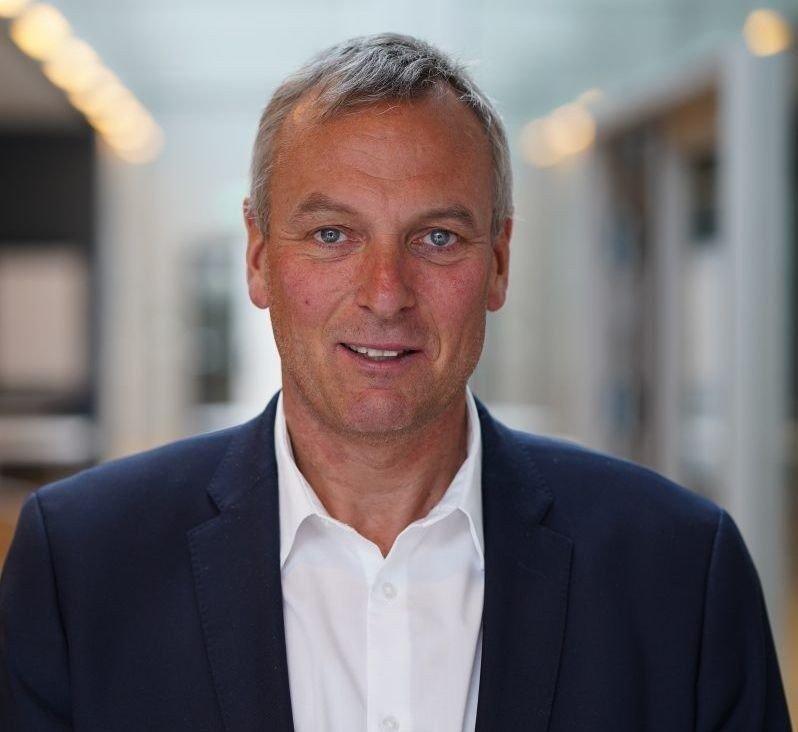 Klikk på bildet for å forstørre. MÅ TÅLE KRITIKK: Rolf Thorsen i Selvaag Bolig mener Oslo-politikerne må tåle kritikk for tomtemangelen i Oslo.