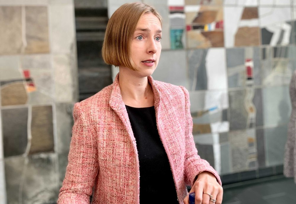 Klikk på bildet for å forstørre. JOBBER MED NY PAKKE: Næringsminister Iselin Nybø (V) sier at hun skulle ønske at regjeringen hadde kommet lenger med den nye kompensasjonspakken, men at hun håper den blir ferdig snart.