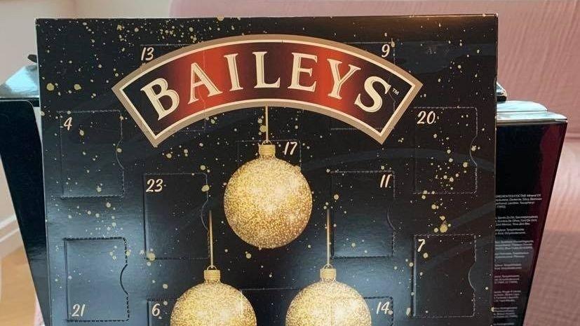 Klikk på bildet for å forstørre. Kalenderen fra Baileys er alkoholfri sjokolade